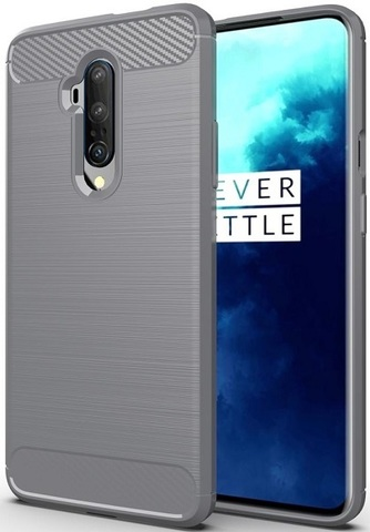 Чехол OnePlus 7T Pro цвет Gray (серый), серия Carbon, Caseport
