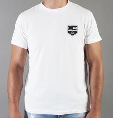 Футболка с принтом НХЛ Лос-Анджелес Кингз (NHL Los Angeles Kings) белая 007