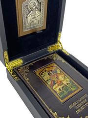 Сказания о благоверном великом князе Александре Невском. Подарочный набор с иконой.