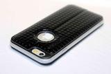 Чехол книжка Totu Lattice для iPhone 6, 6s (Черный)