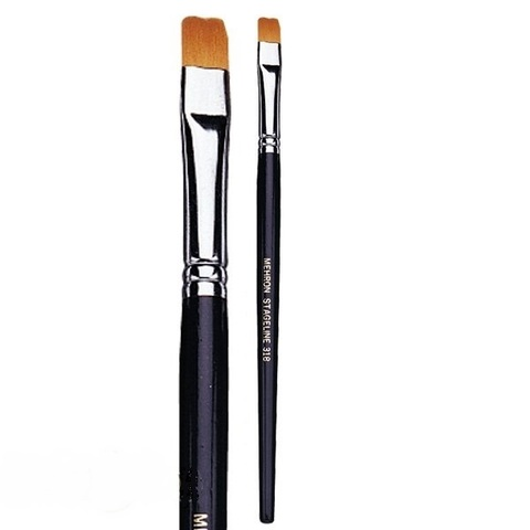 MEHRON Кисть плоская 5/16 inch Flat End Brush, 8 мм