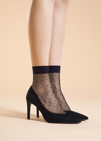 Носочки в мелкий горошек FIORE 20 den (1008/G TRINITY)