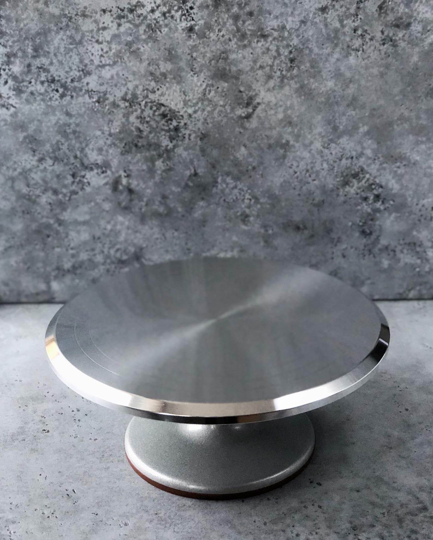 Стол поворотный металлический, 31х13,5 см