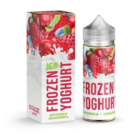 Жидкость Frozen Yoghurt Ice Boost 120 мл Брусника Земляника