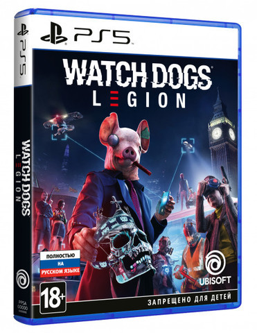 Watch Dogs: Legion (PS5, русская версия)