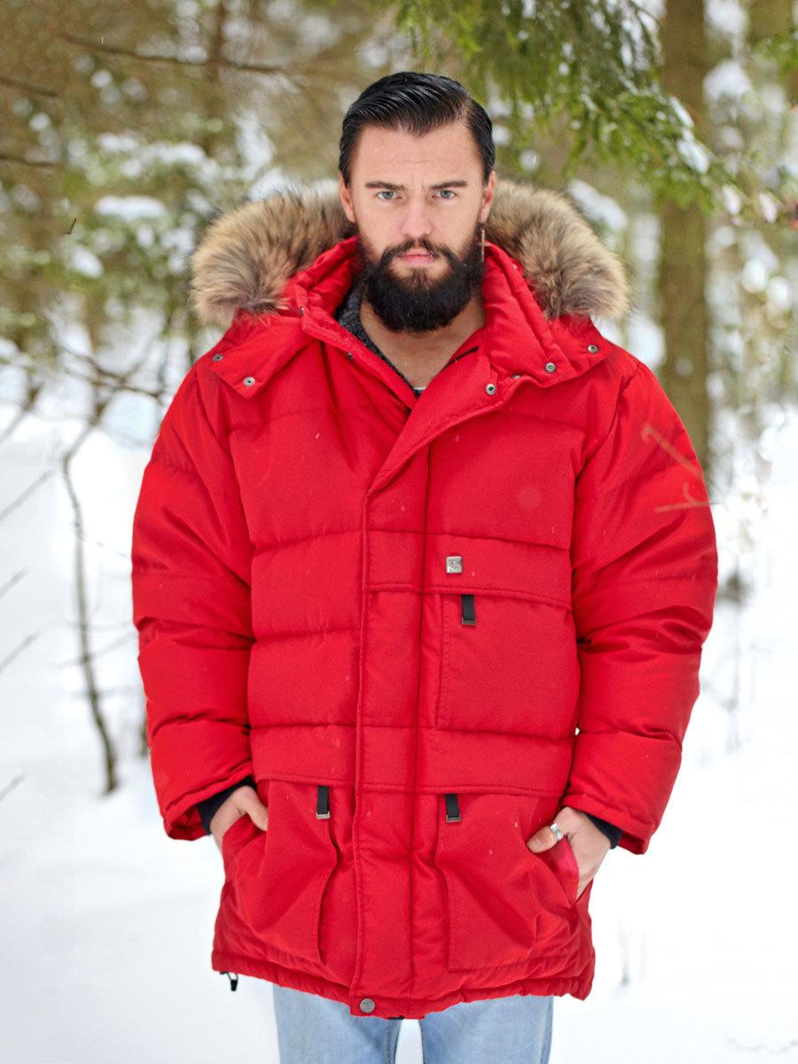Joutsen пуховик Arctic красный