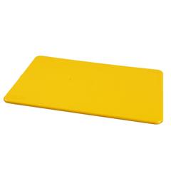 Доска разделочная п/п 450x300x12 мм. желтая MG /1/10/ ТП, (45260)