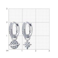 94025068 - Серьги ассиметричные