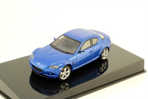 Mazda RX-8 winning blue AutoArt 1:43