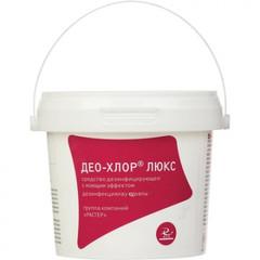 Средство дезинфицирующее Део-хлор Люкс хлорные таблетки (300 штук в упаковке)