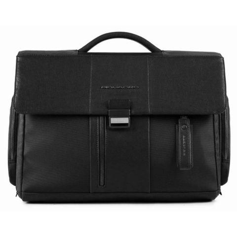 Портфель Piquadro Brief (CA1045BR/N) черный кожа/ткань