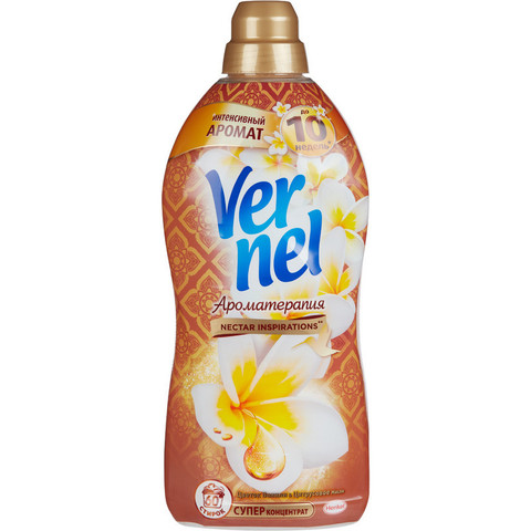 Кондиционер для белья Vernel Ароматерапия Цветок ванили и цитрусовое масло 1.82 л