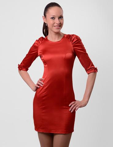 A1881 платье женское, красное