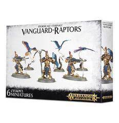Vanguard-Raptors. Коробка