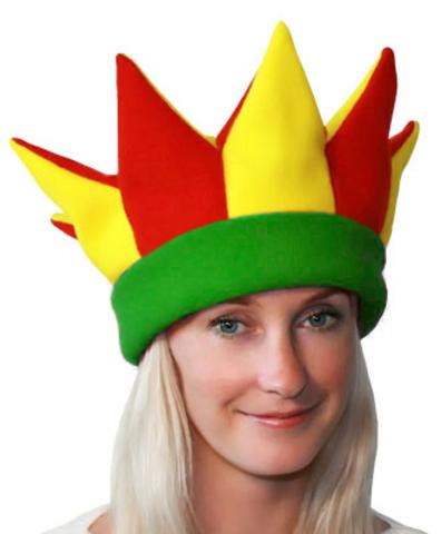 Карнавальная шапка Арлекино