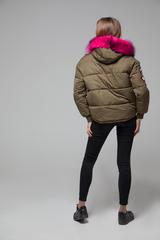 Куртка из плащевки на холлофайбере надя
