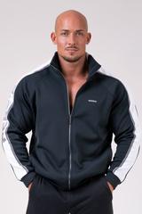 Кофта мужская Iconic Nebbia jacket of Champions 176 black