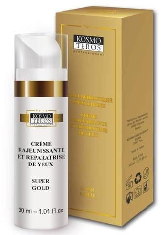 Омолаживающий крем для век «Super Gold» / Creme rajeunissante et reparatrise de yeux «Super Gold», Kosmoteros (Космотерос), 30 мл