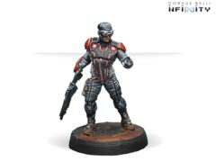 Interventor Hacker (вооружен Combi Rifle)