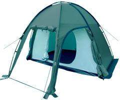 Палатка Talberg Bigless 3 зеленая - 2