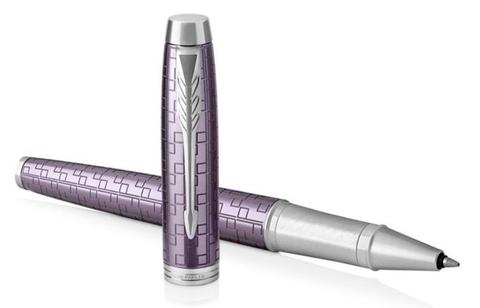 Parker IM Premium - Dark Violet CT, ручка-роллер, F, BL