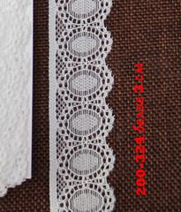 Кружево эластичное, резинка ажурная, 1 метр.