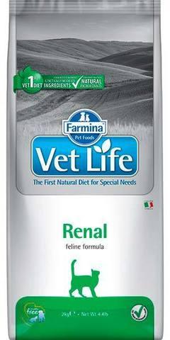 FARMINA Vet Life Сухой корм для кошек при заболеваниях почек Renal