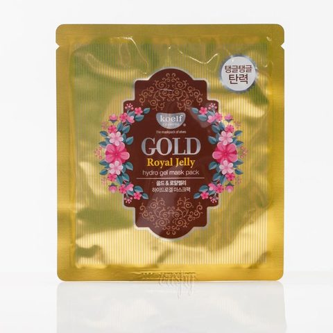 Koelf Gold Royal Jelly hydrogel face mask