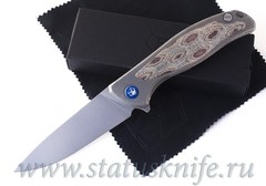 Нож Широгоров Флиппер 95 NL Python Элмакс