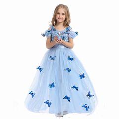 Платье Золушки с пышной юбкой
