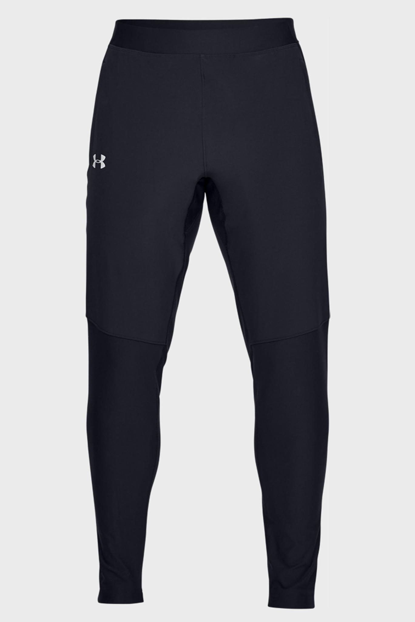 Мужские черные спортивные брюки UA QUALIFIER HYBRID PANT Under Armour