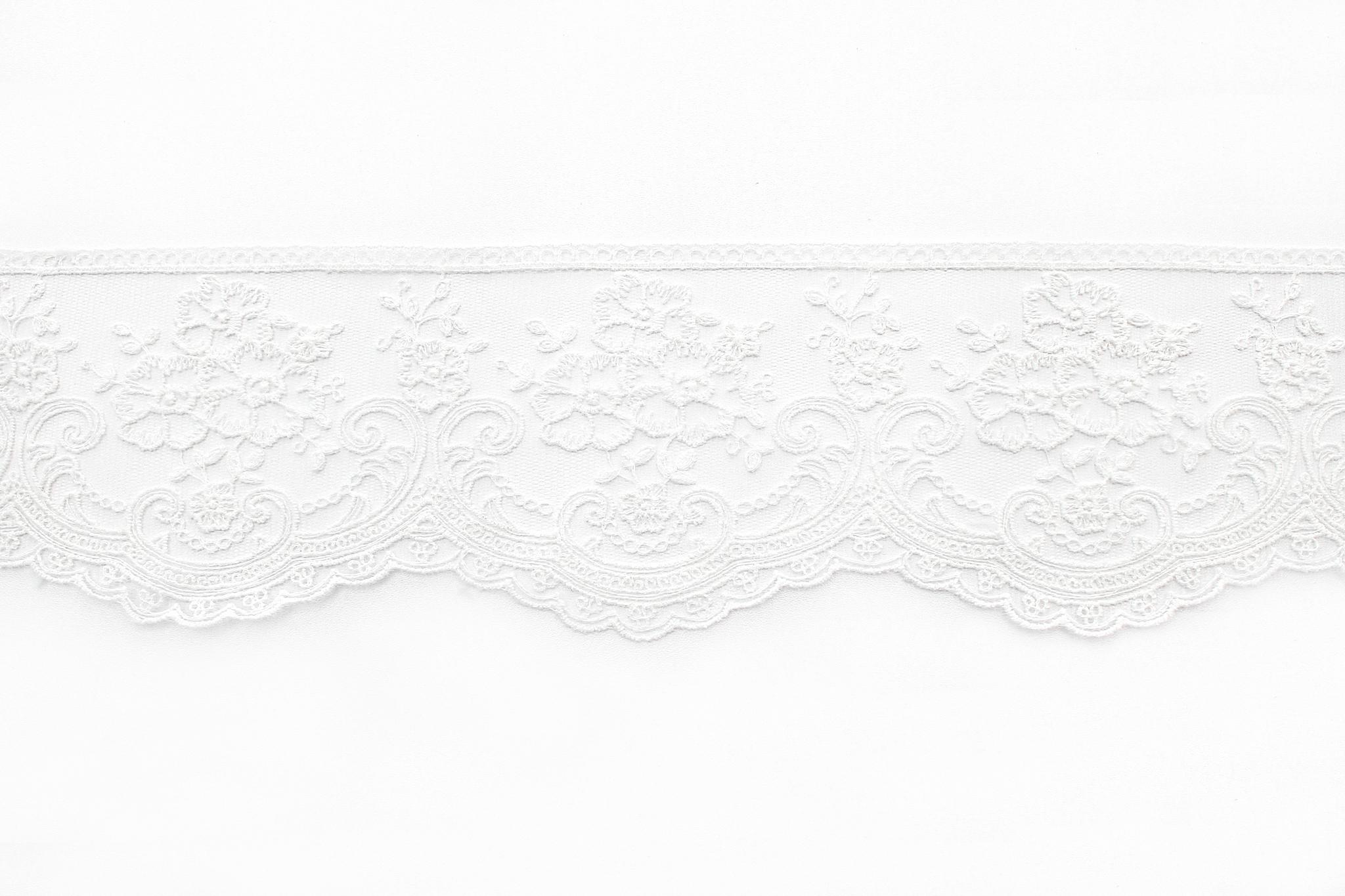 Кружево белое2, 9 см