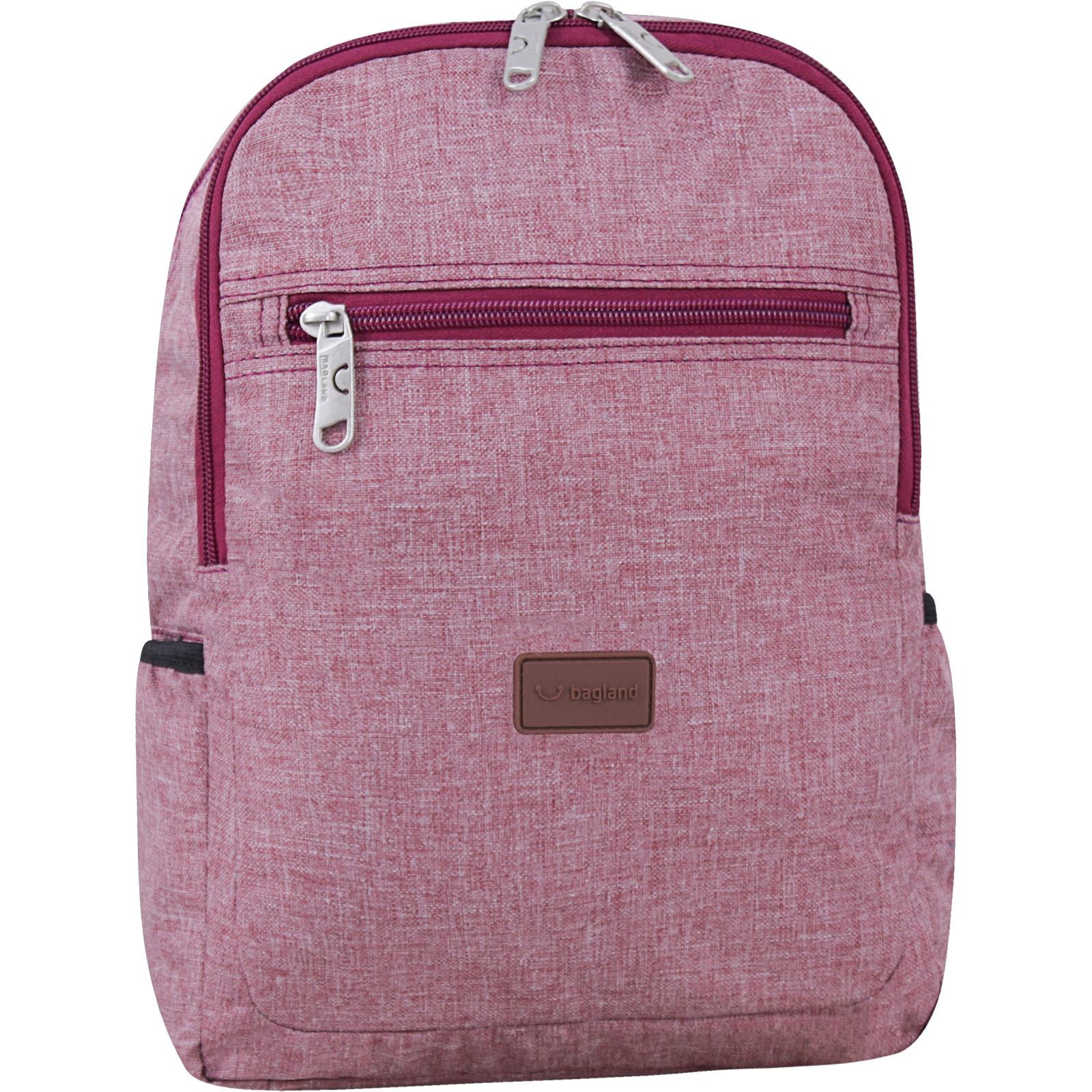 Детский рюкзак Bagland Young 13 л. Бордовый (0051069)
