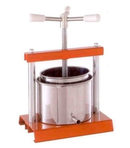 Винтовой пресс для отжима сока ручной на 5 литров Torchietto, фото