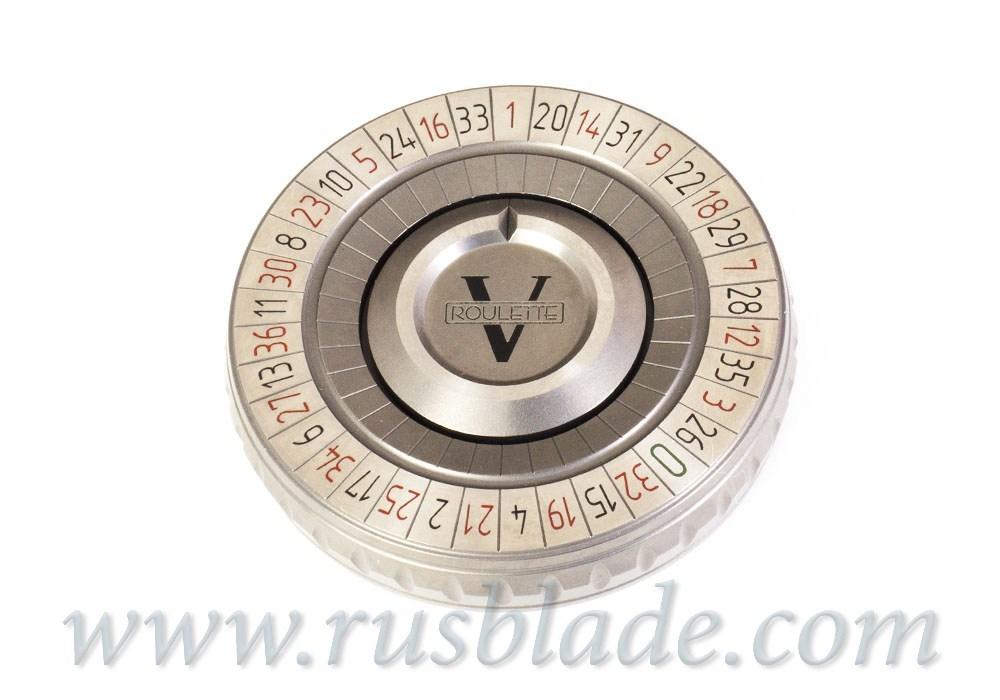 Pocket Roulette V Born in Vegas Shirogorov Knives - фотография