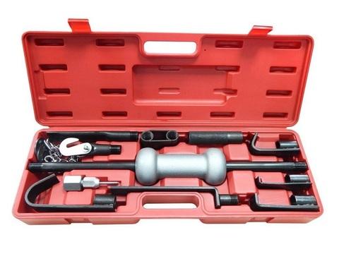 Набор инструмента для кузовных работ (ударный молоток + насадки) СЕРВИС КЛЮЧ (75059)