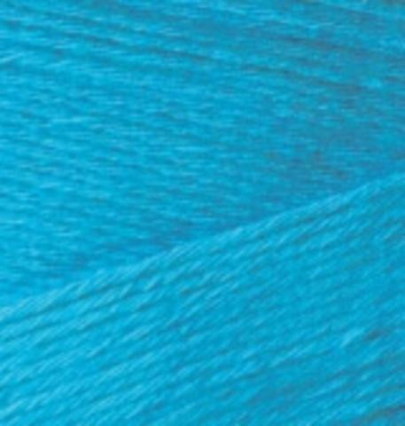 Пряжа Bamboo Fine Alize 484 Голубой Сочи, фото