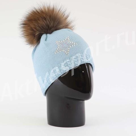 Картинка шапка Eisbar selina fur crystal 211 - 2