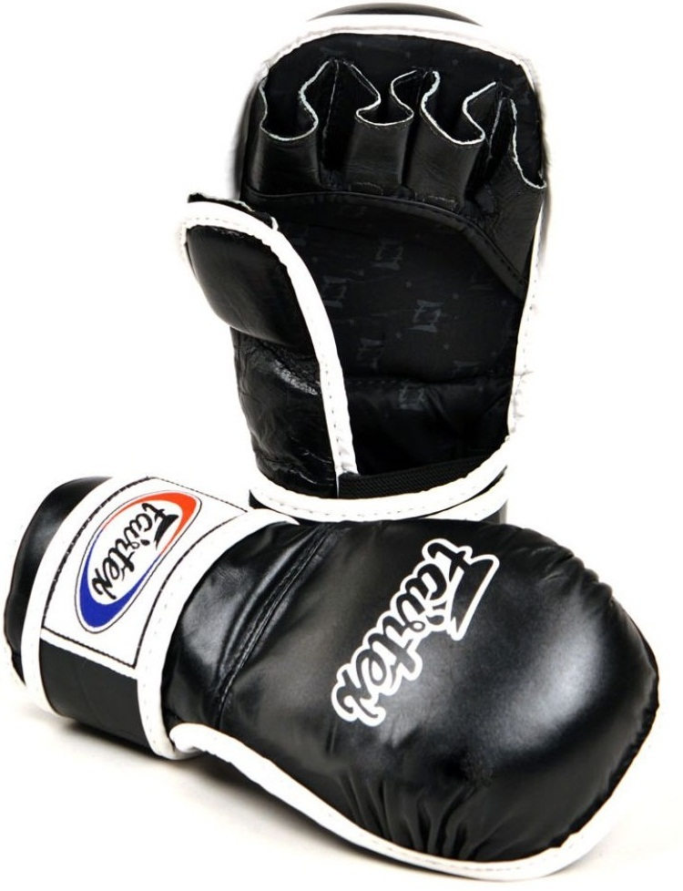 ММА перчатки Перчатки MMA Fairtex Sparring Gloves FGV15 Black 1.jpg