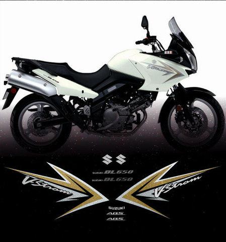 Набор наклеек на мотоцикл SUZUKI DL650 V-STROM 2010