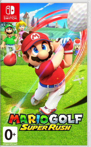 Mario Golf: Super Rush (Nintendo Switch, русская версия)