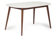 Стол обеденный Макс (Max), цвет: корич./белый