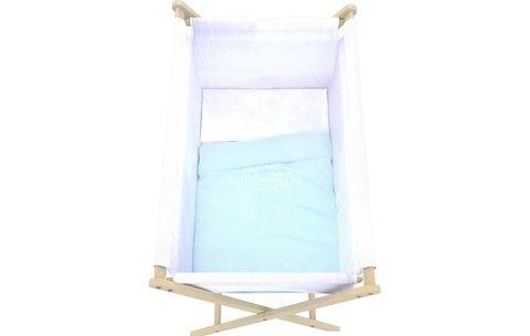 Кровать детская Polini kids Колыбель, голубой