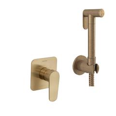 Встраиваемый гигиенический душ 11361801WCOC золотой
