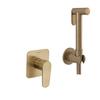 Встраиваемый гигиенический душ 11361801WCOC золотой - фото №1