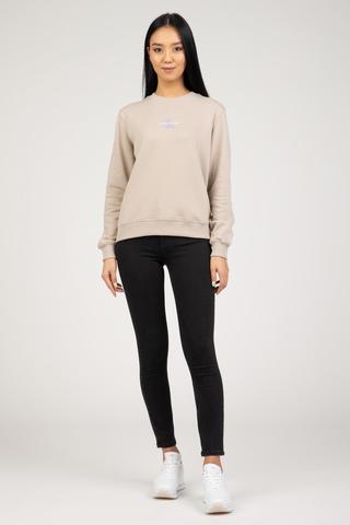 Женский свитшот Calvin Klein MONOGRAM LOGO CREW NECK