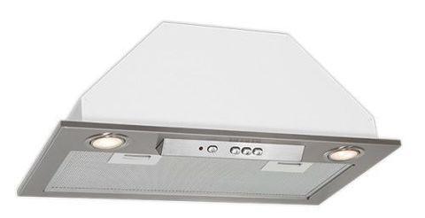 Вытяжка встраиваемая Elikor Врезной блок 52Н-650-Э3Д нержавеющая сталь управление: кнопочное (1 мотор)