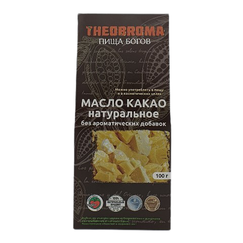 Какао-масло натуральное THEOBROMA, 100 гр