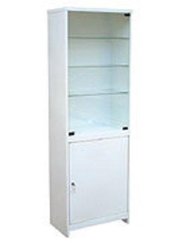 Шкаф медицинский одностворчатый ШМС-1 - фото