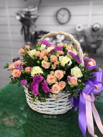 Цветы в корзинке #3883